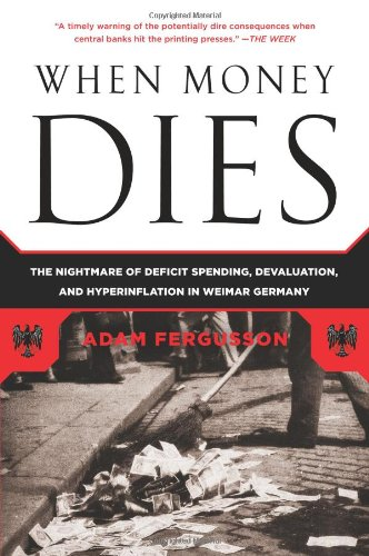 Cover page of the book When Money Dies
